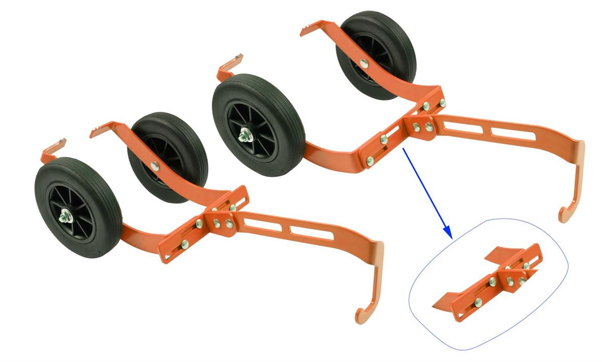 SD2500 Professional Sled Dolly